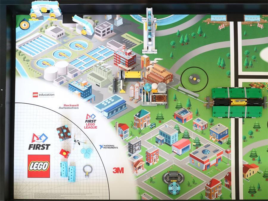 Spielfeld Amp Platzierung First Lego League